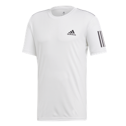 ADIDAS - CLUB 3 STRIPES TEE M VIT