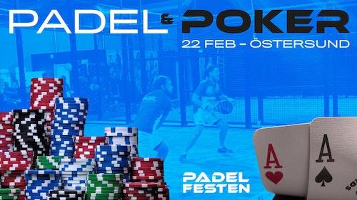 Padel & Poker - 22 februari - Östersund