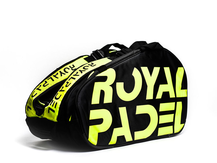Royal Padelväska Svart/Gul
