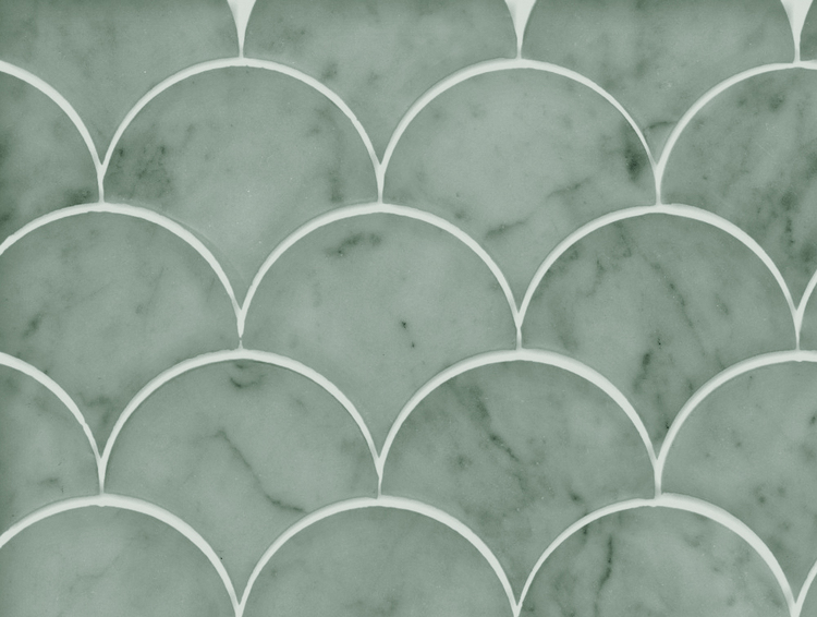 Fishscale Marble Moss
