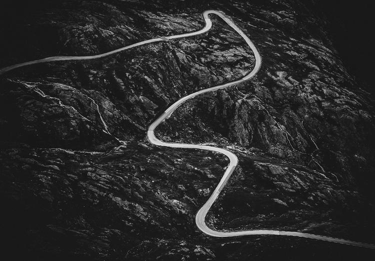 Scandinavian Nature - Norwegian road