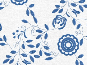 Delsbosöm - Traditional Swedish embroidery - Linnea Blue