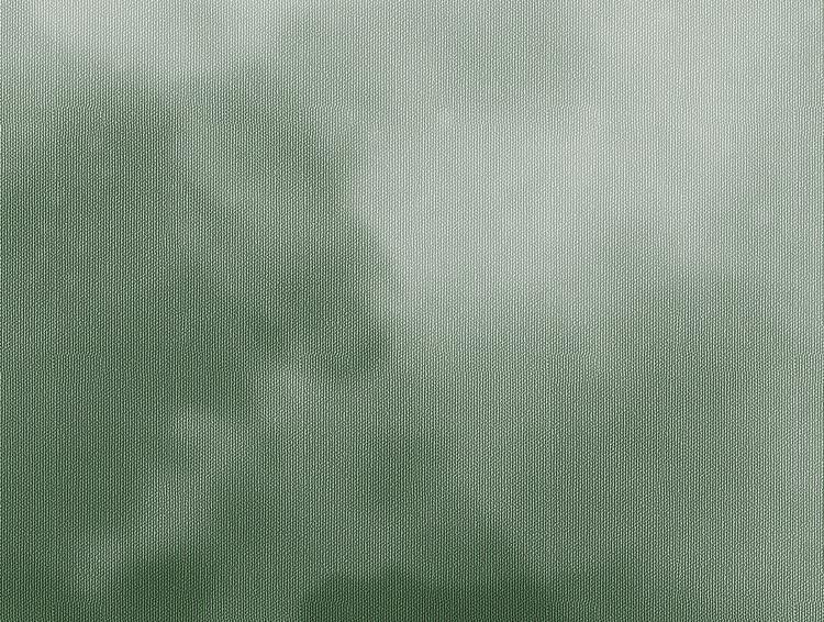 Detaljbild av Nelly molntapet i grön nyans.