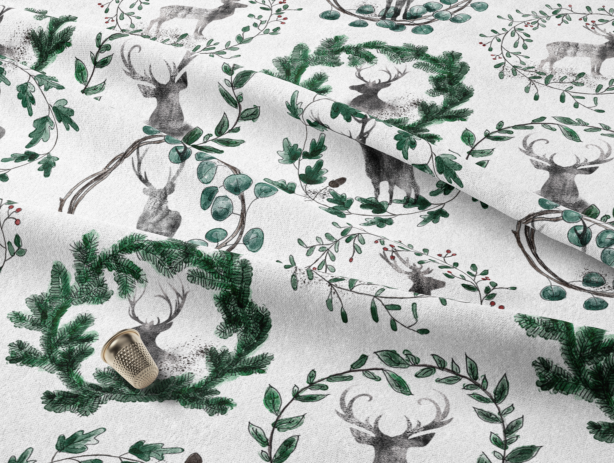 Vinterland Rudolf - GOTS single jersey