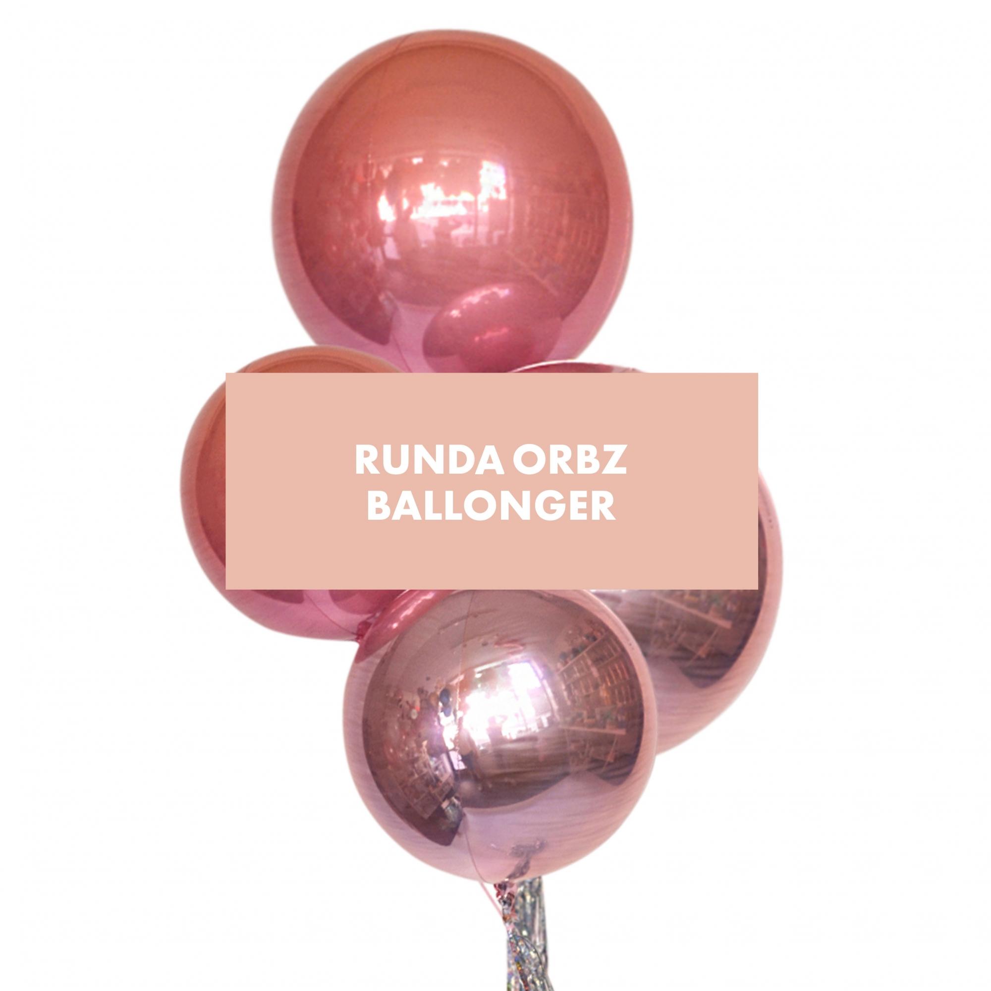 Runda Orbz ballonger - Theo & jag