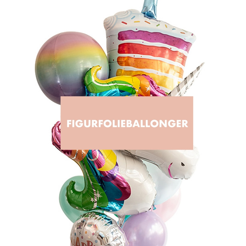 Figurfolieballonger - Theo & jag