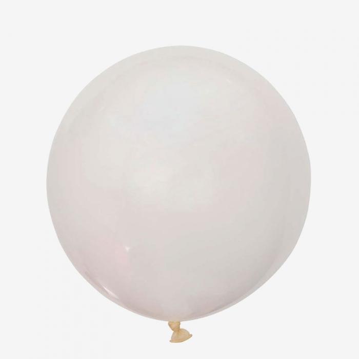 Heliumfylld Jätteballong - Genomskinlig