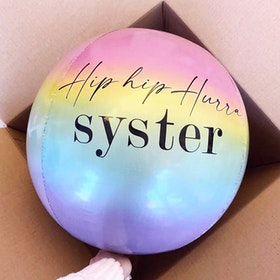 Ballongpost - Personlig Orbzballong