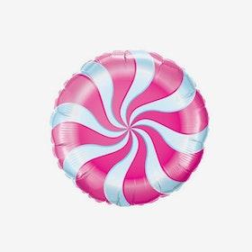 Ballongpost - Folieballong - Candy - Fuchsia