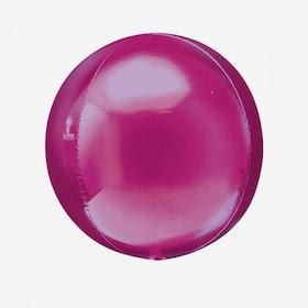 Ballongpost - Folieballong - Orbz Rosa