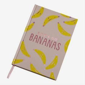 Anteckningsbok - Let's go Banans