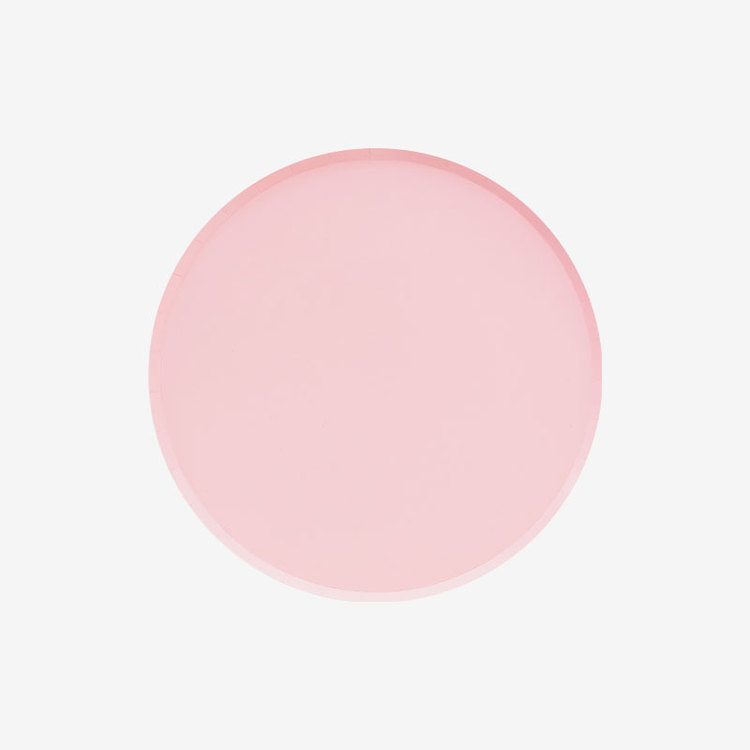 Tallrikar - Blush små