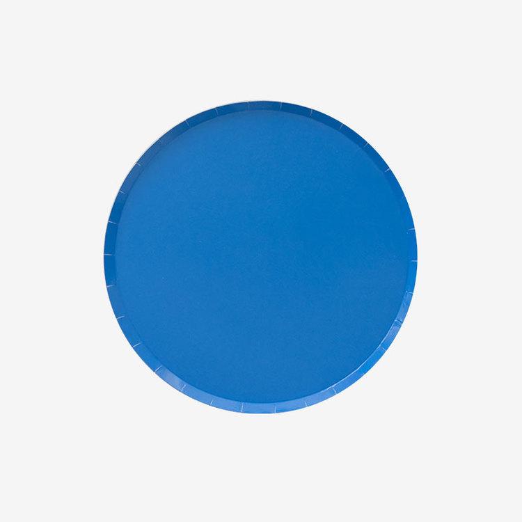 Tallrikar - Blå små