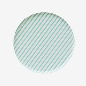 Tallrikar - Mint Stripes