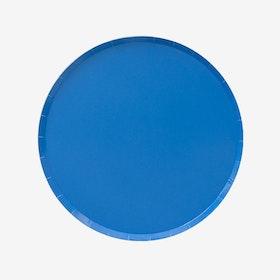 Tallrikar - Blå