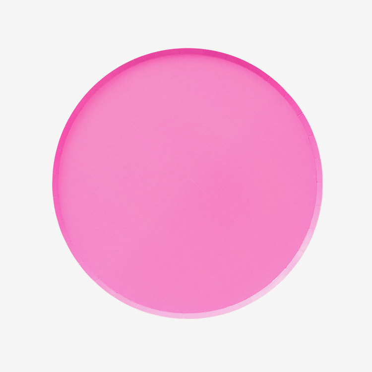 Tallrikar - Neon Rose