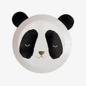Tallrikar - Panda