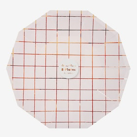 Tallrikar - Rose Grid