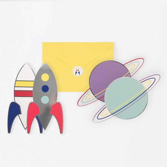 Inbjudningskort Cosmic
