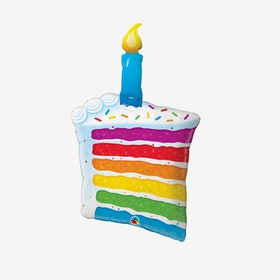 Folieballong - Piece of Cake