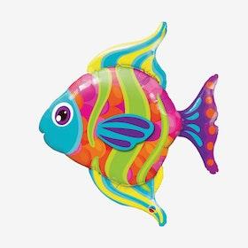 Folieballong - Fisk