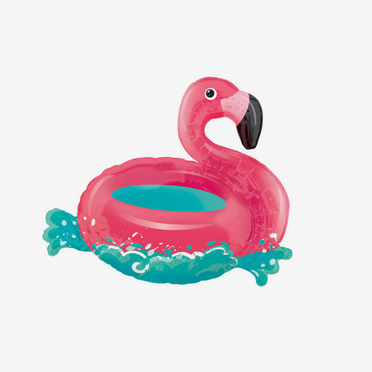 Folieballong - Floating Flamingo