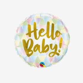 Folieballong - Hello Baby