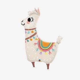 Folieballong - Lama