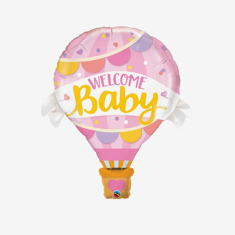 Folieballong - Luftballong Pink Babyshower