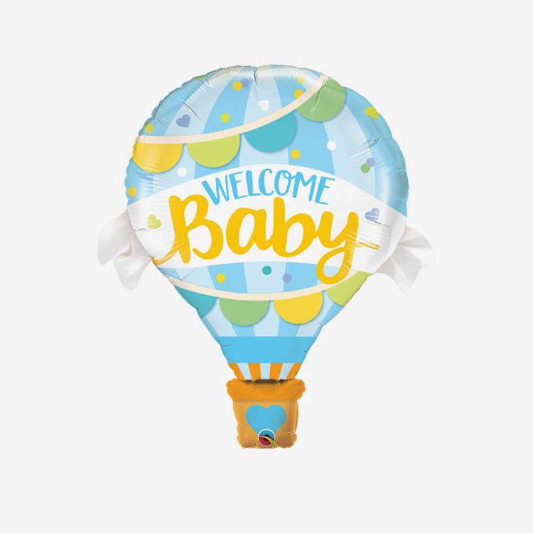 Folieballong - Luftballong Blue Babyshower