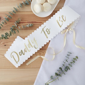 Sash Daddy to be - Guld