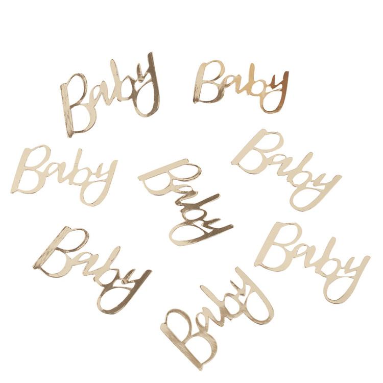 Konfetti Oh Baby Guld