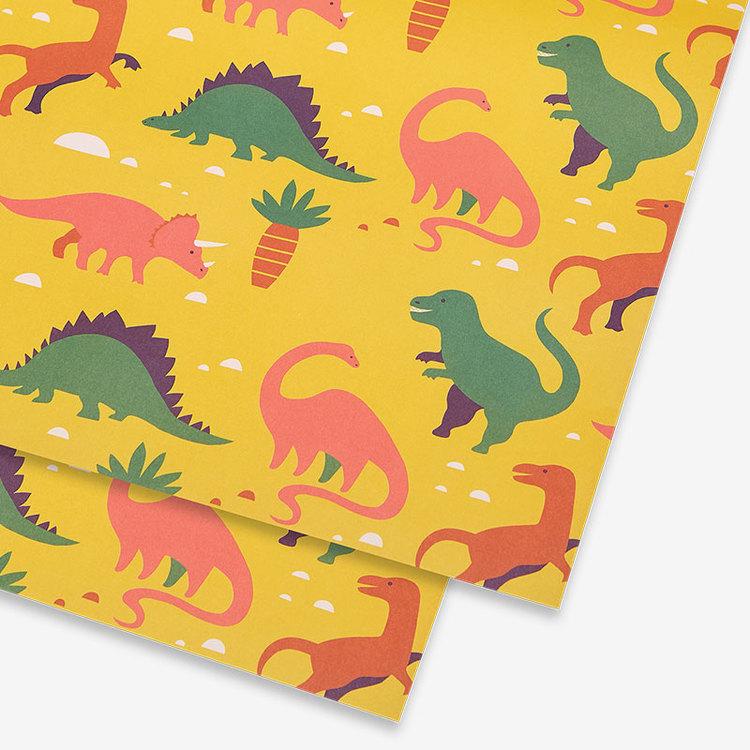 Presentpapper Dinosaurs