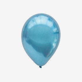 Ballong 28 cm - Chrome Blå