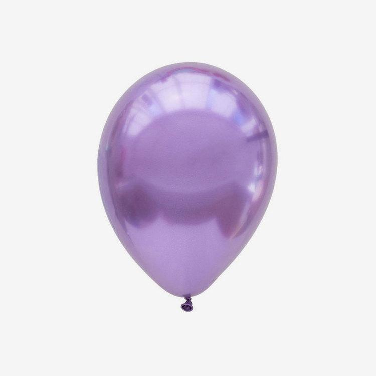 Ballong 28 cm - Chrome lila