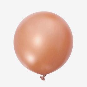 Jätteballong - Roséguld