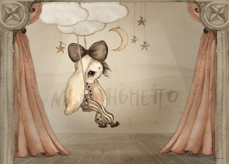 Miss Hazel 70x50 - Mrs Mighetto