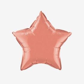 Folieballong - Stjärna Korall