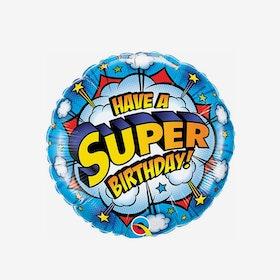 Folieballong - Super Birthday