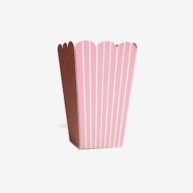 Popcornbägare Rosa
