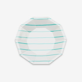 Tallrikar - Frenchie Stripe Mint