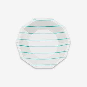 Tallrikar - Frenchie Stripe Mint