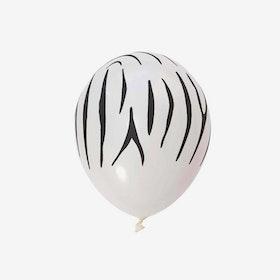 Ballong 28 cm - Zebra