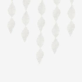 Crepe Fringe - Vit