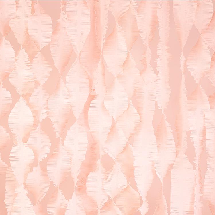 Crepe Fringe - Puderrosa