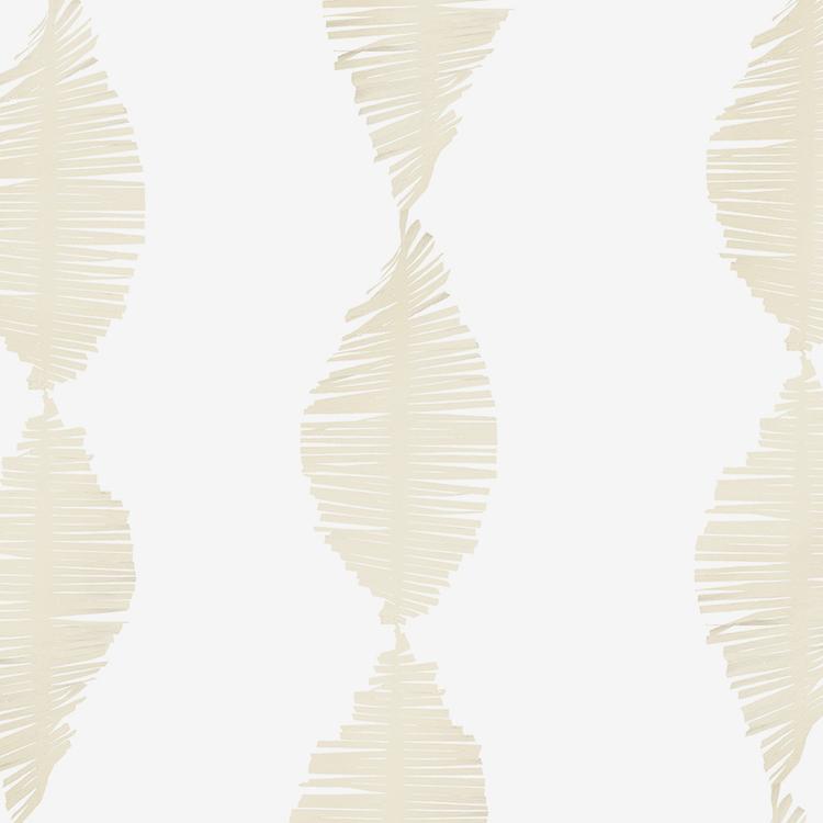 Crepe Fringe - Ivory