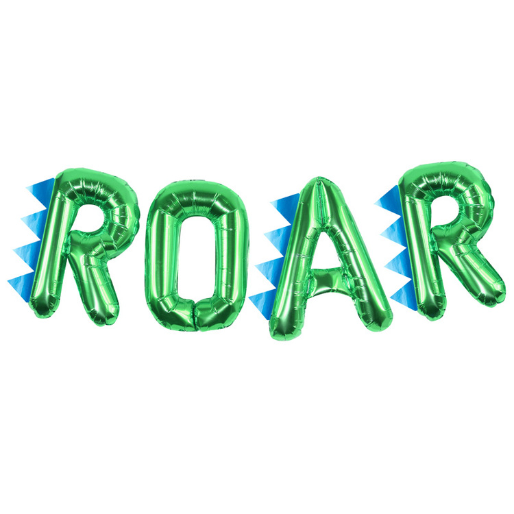 Ballonggirlang - ROAR - Grön