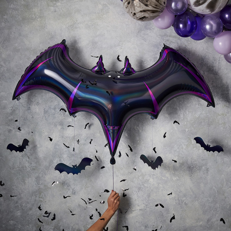Folieballong - Fladdermus