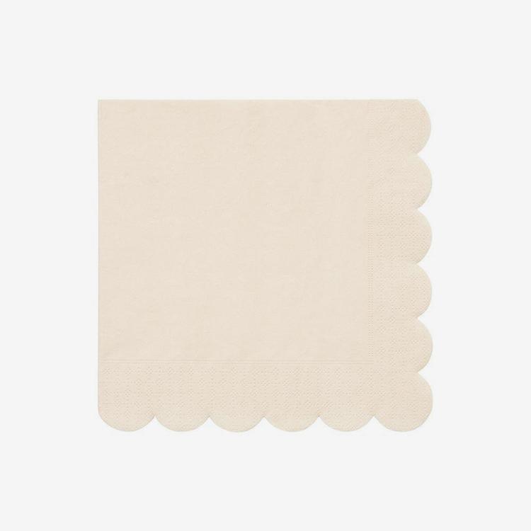 Servetter - Eco - Cream