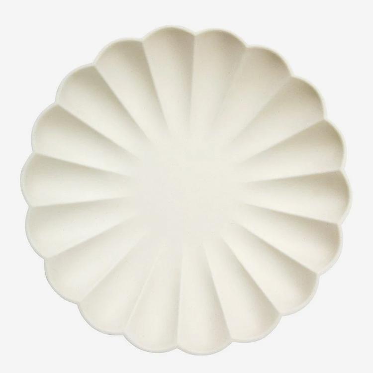 Tallrikar - Eco - Cream